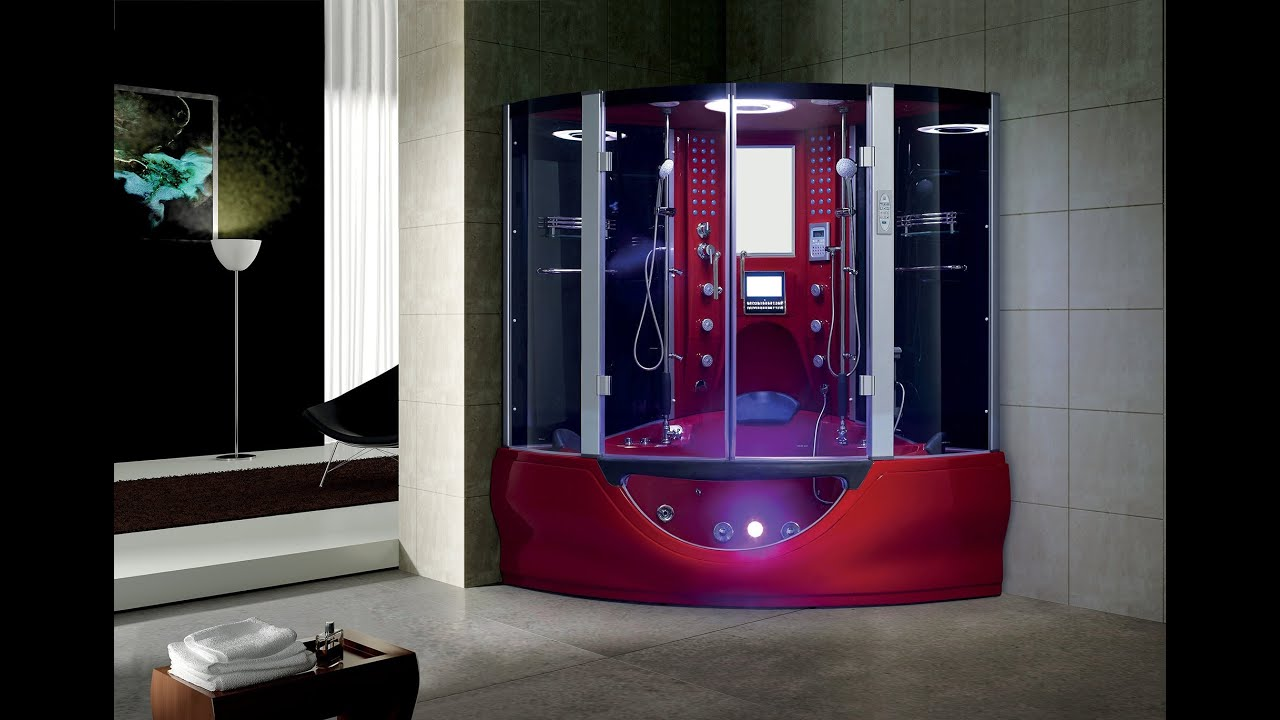 Luxury Valencia Steam Shower by MayaBathcom  YouTube
