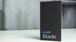 Распаковка MAZE Blade: зеркальный смартфон