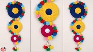 WOW !!! DIY Woolen Wall Hanging || DIY Room Decor !!!