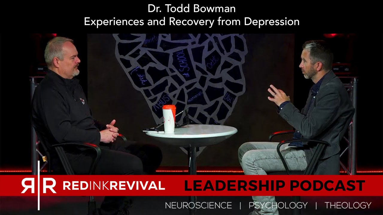 73. Dr. Todd Bowman - Experiences and Recovery from Depression