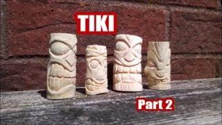 Tiki carving Time lapse ( Part 2 )