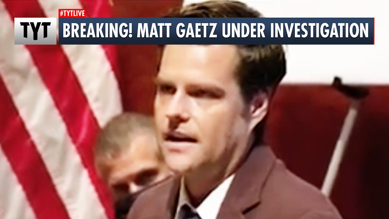 Matt Gaetz Under Investigation Over Possible Sex Trafficking