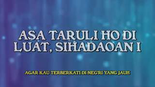 Lagu Batak Poda Lirik Indonesia Edo Kondologit arr Viky Sianipar