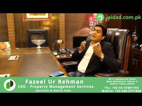 Understand new taxation on property by Fazeel-Ur-Rehman CEO of Property Management Services PMS