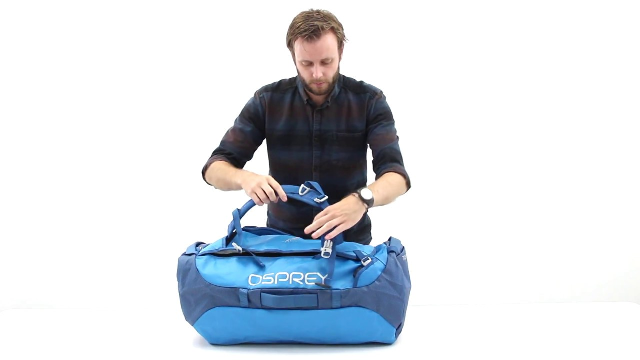 47c73dd33127 Osprey Europe - Transporter Travel Duffel Bag - Pack Features - YouTube