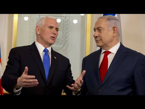 Jerusalem: Proteste bei Besuch von Mike Pence
