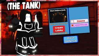 *NEW* WAVE DEFENCE GAMEMODE IN DUNGEON QUEST *HARDEST DIFFUCLTY* (ROBLOX)