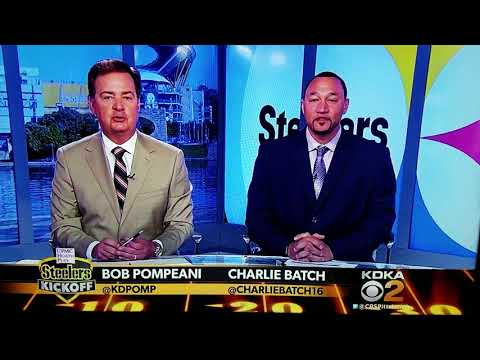 Charlie Batch & Bob Pompeani pick Steelers week 1 game against the Browns