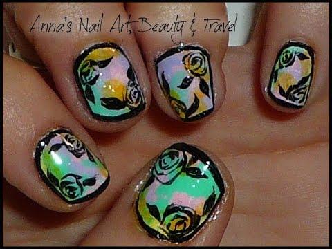 Framed Roses - Nail Tutorial thumbnail