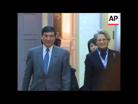 French defence minister meets Japanese counterpart