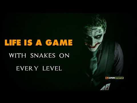 Reality Of Life - Joker Best Whatsapp Status Video / Joker Best Quotes 2019