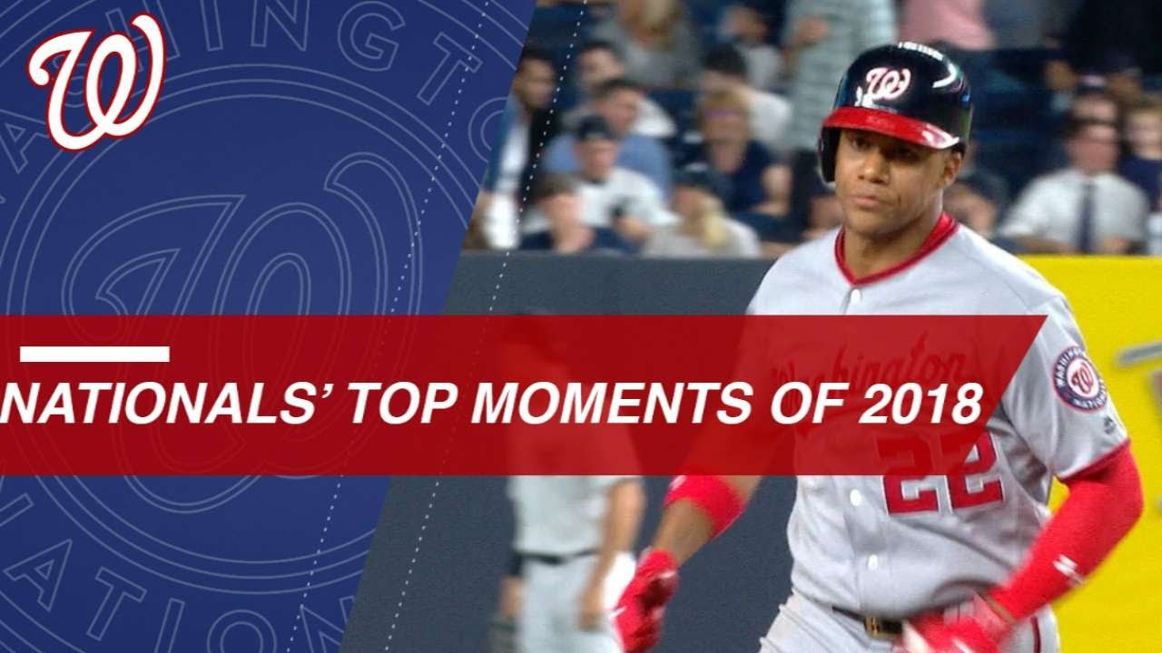 low priced 0a2b4 2fc20 Check out some of the Nationals top moments of 2018