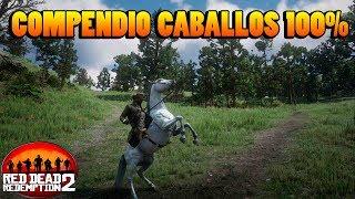 Zapętlaj Todos los caballos de RED DEAD REDEMPTION 2 Compendio 100% | Fercerr Di