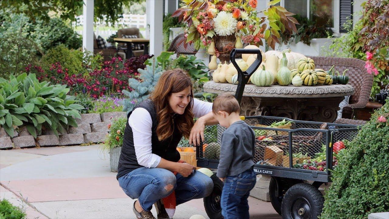 End Of Season Harvest Garden Answer Youtube