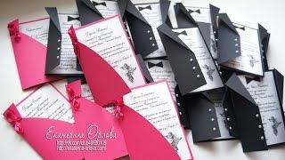 Свадебные приглашения. Мастер-класс.  Wedding invitations