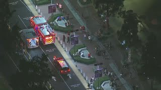 Police activity at Knott's Berry Farm in Orange County