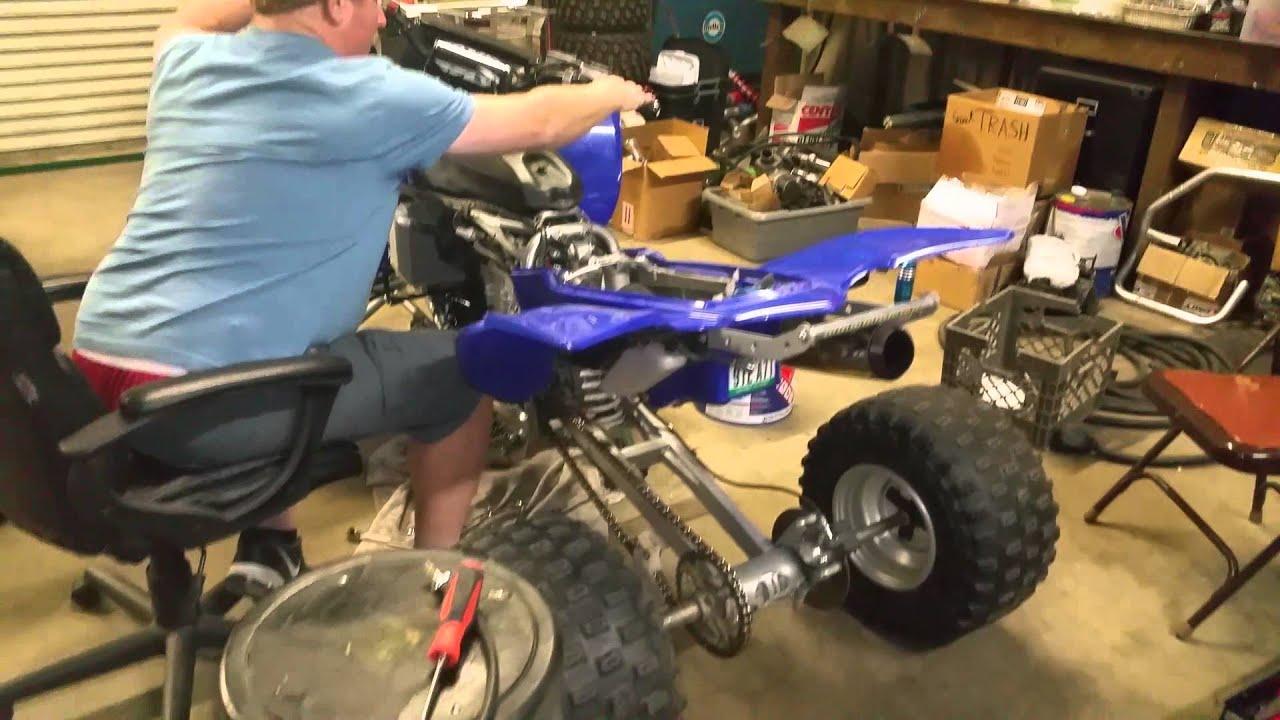 Yamaha YFZ 450 Thunder Machine by Rob Selvy