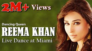 Dancing Queen Reema Khan | Live Dance Performance in Miami, USA