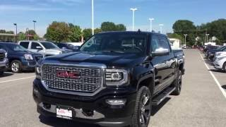 demo 2017 gmc sierra 1500 4wd crew cab denali black oshawa on stock   170084