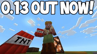 Minecraft Pocket Edition - 0.13.0 OUT NOW! - Redstone Update! (iOS/Android)