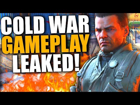 Call Of Duty 2020 Black Ops Cold War Leaked Gameplay Youtube