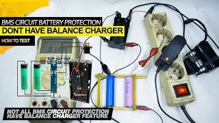 BMS board battery Protection circuit 18650 Series not balance volage for every cell