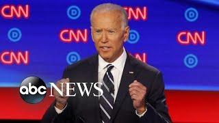 Night 2 of Democratic debates, Navy fighter jet crashes, spotlight on Marianne Williamson   ABC News