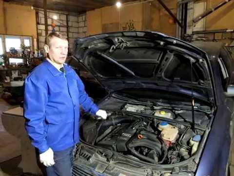 Замена датчика температуры системы охлаждения двигателя