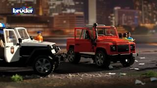 Jeep Wrangler Unlimited Rubicon Polizeifahrzeug  -- 02526 -- BRUDER Spielwaren