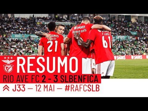 HIGHLIGHTS: Rio Ave FC 2-3 SL Benfica