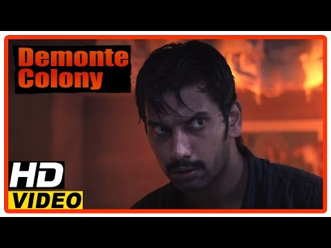Demonte Colony Tamil Movie | Scenes | Arulnithi Finds A Way To Escape