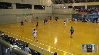 2019年IH ハンドボール 女子 準々決勝 明光学園(福岡)VS 洛北(京都)