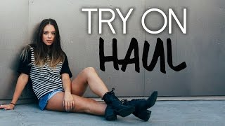 TRY ON HAUL: Nasty Gal, Top Shop, Windsor & More!