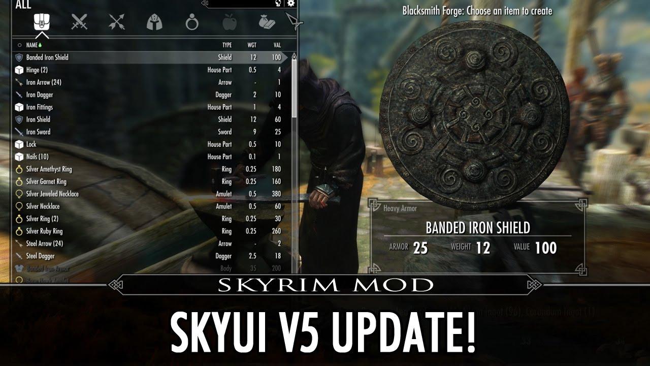 how to make skyui work