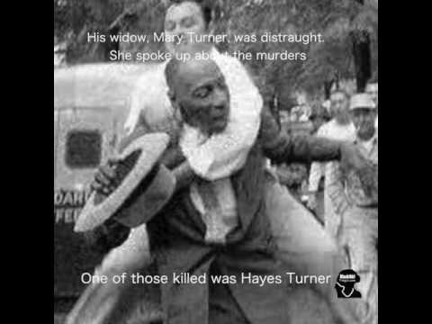 The Horrific Lynching of Mary Turner: Lowndes County, Georgia