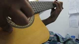 Beautiful in White ( Simple Guitar Fingerstyle )