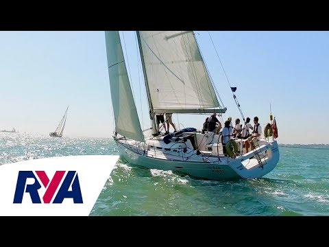 Southampton Sailing Week  - Sunsail Match F40's with with Chris Rees