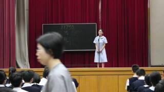 瑪利諾中學1617年度高中演講比賽中三冠軍3A王伊珩