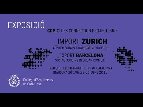 """Inauguració exposició """"Import Zurich / Export Barcelona"""""""