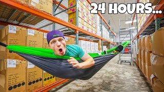 24 HOUR OVERNIGHT WAREHOUSE CHALLENGE!