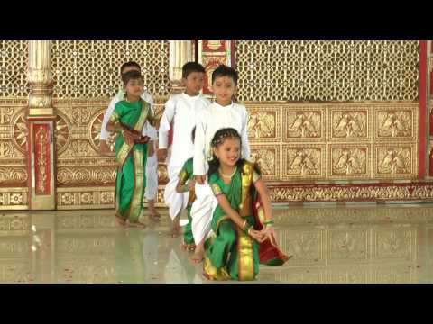 Lallati Bhandar - HD English Medium School Gathering Dance - 2016-17