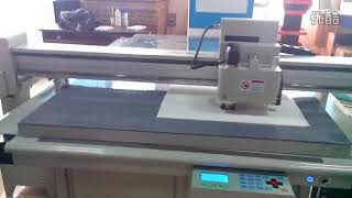 camera system  registration foam forex cutting system flatbed cutter table machine