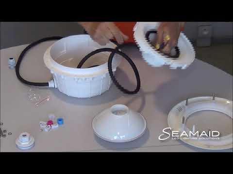 Astral Avec Par56 Projecteur Installation De Seamaid D'une Corps Ecoproof Son Lampe Sur dxshQotrCB