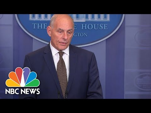 John Kelly: President Donald Trump Believes Puerto Ricans Are American Citizens| NBC News