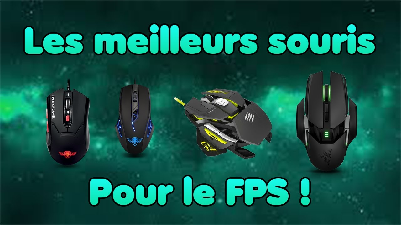 les meilleurs souris gamer pour le fps razer roccat youtube. Black Bedroom Furniture Sets. Home Design Ideas