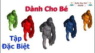 Dành Cho Bé - Nhạc King Kong Vui Nhộn - Hoạt Hình Hài Hước - For Kids - Funny King Kong Music