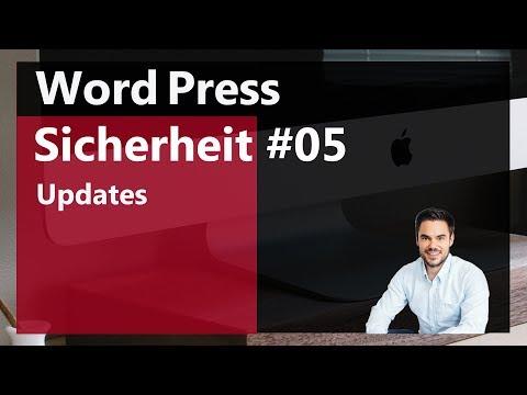 WordPress Update von Themes und Plugins (Deutsch)