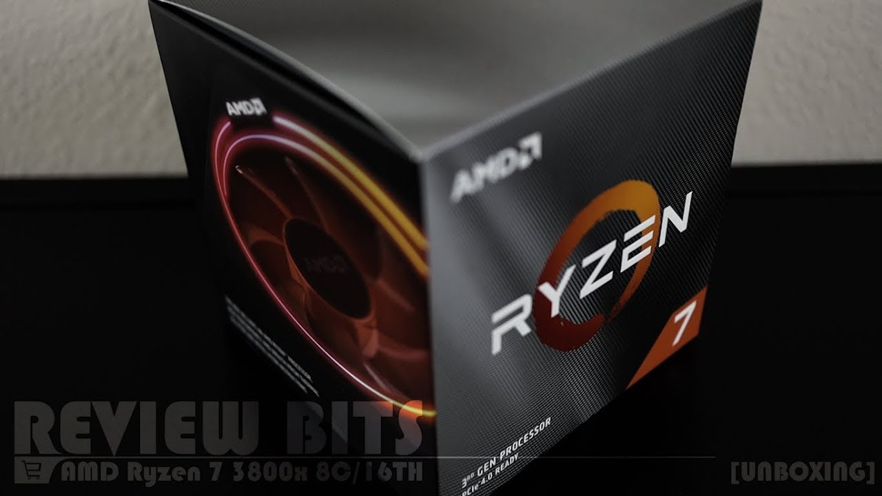 Review Bits Amd Ryzen 7 3800x 8 Core 16 Thread Processor W Wraith Prism Unboxing Youtube
