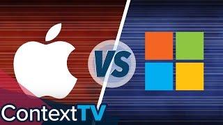 Gambar cover Apple VS Microsoft