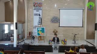 LIVE - IPMN  - EBD   -  TEMA : UMA HOMEM ÍNTEGRO.  REV. FABIO BEZERRA